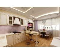 Bacciarelli - кухня небольшого размера на площадь 12,8 кв. м.