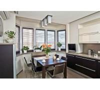 Baldinucci - кухня с микроволновой печкой на площадь 10,9 кв. м.