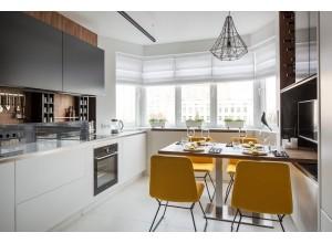 Barassi - кухня с вентиляционным коробом на площадь 11 кв. м.