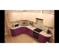 Bassano - кухня двухцветная на площадь 9,5 кв. м.