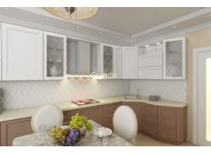 Battaglia - кухня с фасадами egger на площадь 14 кв. м.