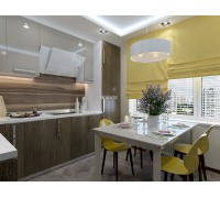 Bellotti - кухня с фасадами арпа (arpa) на площадь 10,9 кв. м.