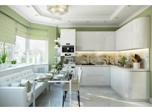 Angelini - кухня с посудомойкой на площадь 11,2 кв. м.