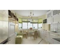 Benvenuti - кухня с вытяжкой на площадь 9,1 кв. м.
