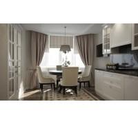 Bernini - кухня в современном дизайне на площадь 10,5 кв. м.