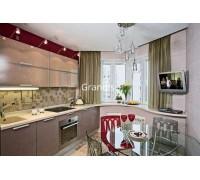 Berti - кухня с угловой мойкой на площадь 9,1 кв. м.