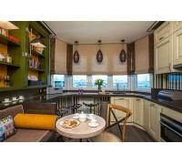 Bertoli - кухня с навесными шкафами на площадь 11,3 кв. м.