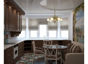 Bianco - кухня со светлыми фасадами на площадь 10,4 кв. м.