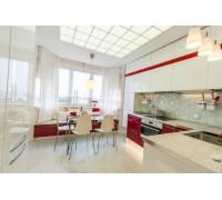 Bolzoni - кухня с фасадами софттач на площадь 9,1 кв. м.
