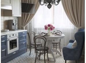 Boragina - кухня с столом на площадь 9,8 кв. м.