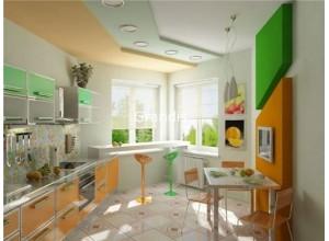 Borelli - кухня в стиле модерн на площадь 8,3 кв. м.