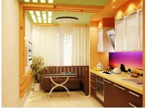 АНТА ВЕТРО - кухня на утепленное помещение, размер 7,7кв метра