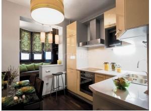 АНДЖЕЛО - кухня объединенная с балконом, размер 6,9кв метра