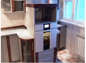 АНДРЕА - кухня на утепленное помещение с лоджией, размер 5,1кв метра
