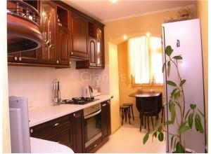 АНТА ГОЛА - кухня в панельном доме, размер 8,7кв метра