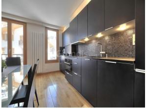 ЭННИ - кухня в панельном доме, размер 8,8кв метра