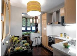ФАРМ - кухня с балконом, размер 6,7кв метра