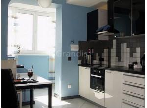 ЭММА - кухня в панельном доме, размер 13,3кв метра
