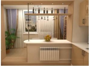 ГОЛДИ - кухня с угловой мойкой, размер 10,8кв метра