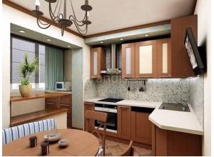 ВИТАЛИЯ - кухня в панельном доме, размер 10,2кв метра
