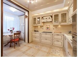 ГЛОРИЯ - кухня в стиле лофт, размер 10,3кв метра