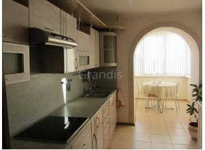 ИНТЕГО - кухня с панорамным остеклением, размер 6,3кв метра