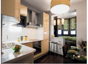 ДЮНА - кухня в стиле лофт, размер 5,6кв метра
