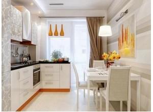 ТОММАЗИ - кухня с обеденной зоной, размер 7,9кв метра