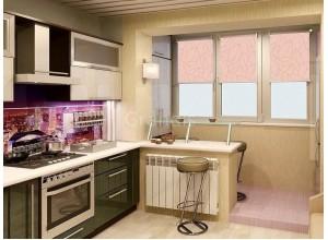 ДУГЛАС - кухня в панельном доме, размер 11,2кв метра