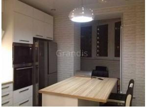 ВЕГАС - кухня в стиле лофт, размер 12,7кв метра